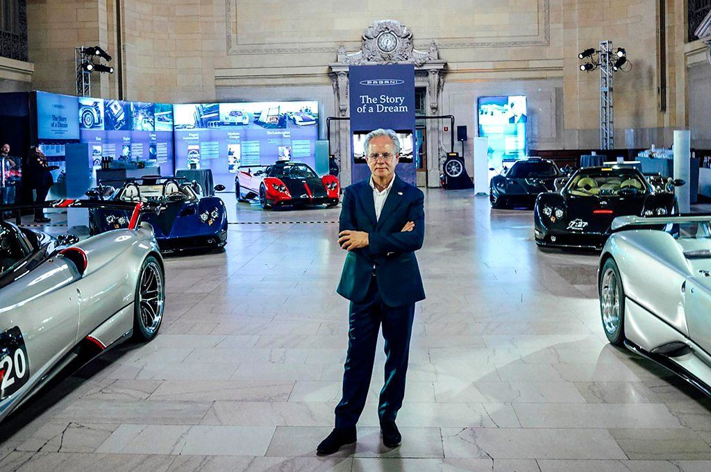 El argentino Horacio Pagani le vendió el 30% de su empresa al fondo soberano de Arabia Saudita. Archivo.
