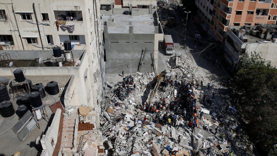 En la Franja de Gaza ya murieron 192 palestinos