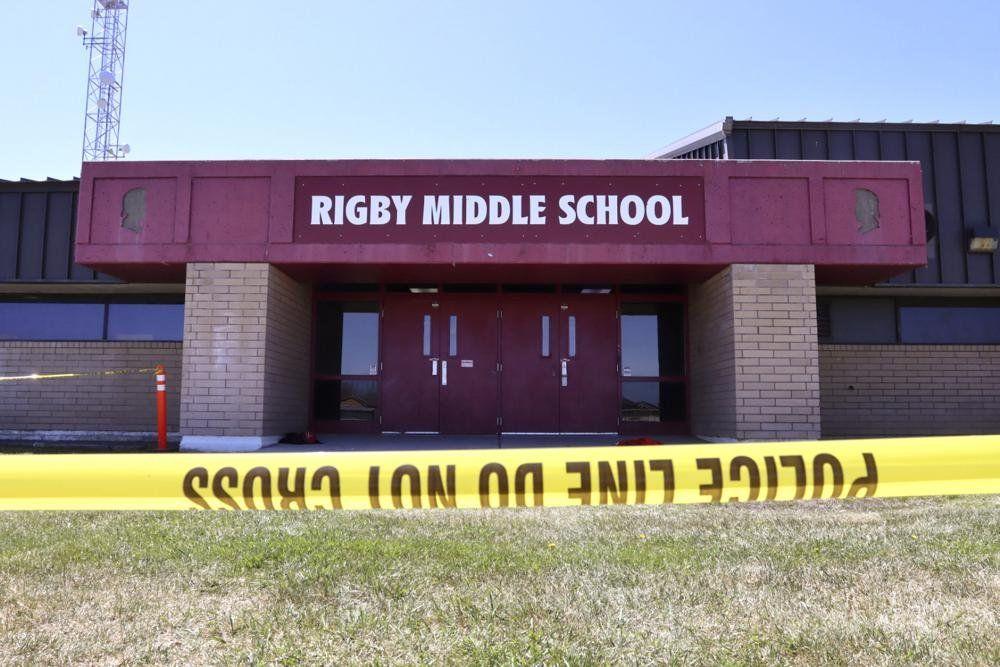 Escuela secundaria de Rigby, Idaho, Estados Unidos, donde sucedió el tiroteo