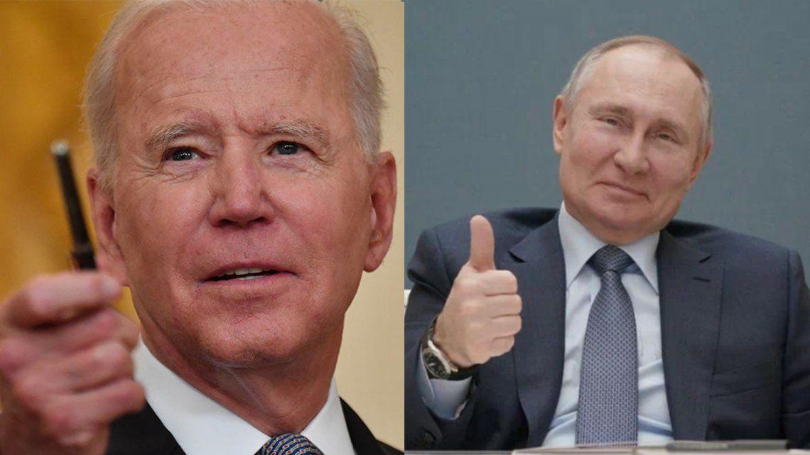 Biden y Putin se verán cara a cara en Ginebra.