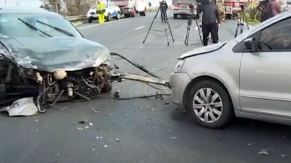 Escobar: accidente de tránsito falta sobre la Panamericana.