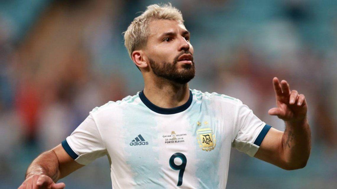 Sergio Kun Agüero volverá a vestir la camiseta de la selección Argentina.