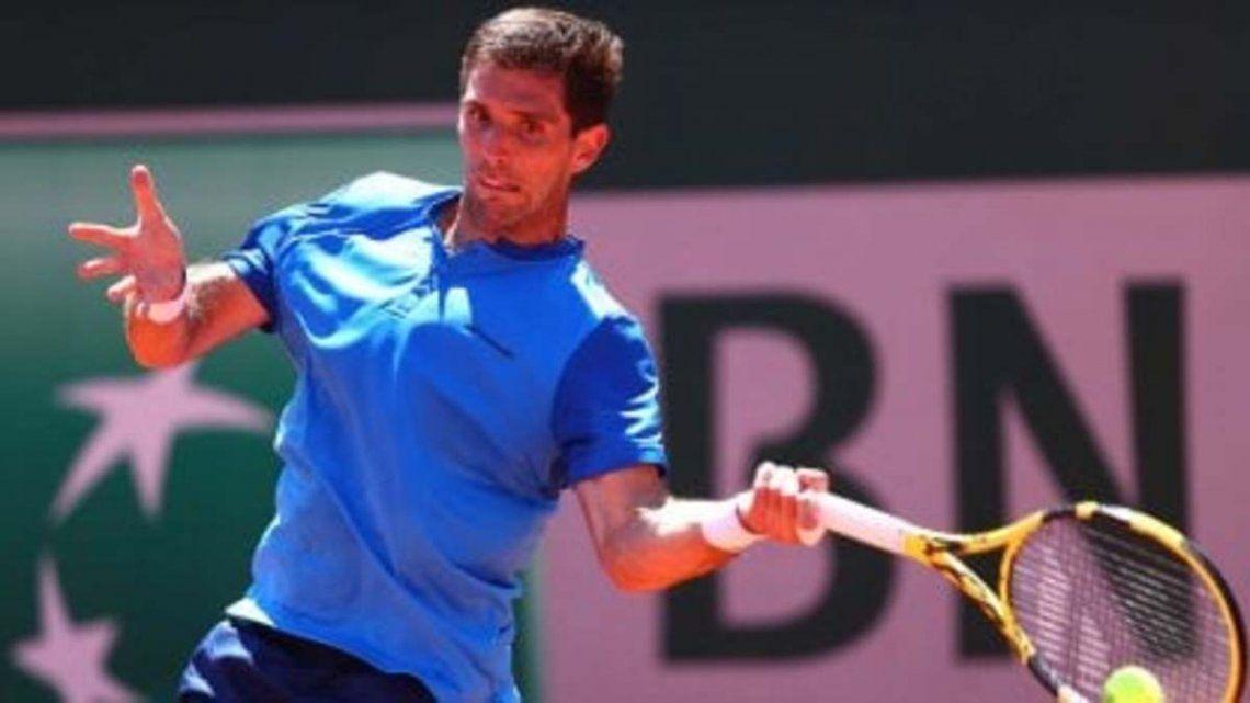 Federico Delbonis avanza en Roland Garros