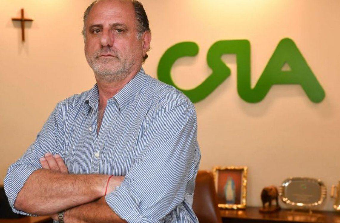 Jorge Chemes, presidente de Confederaciones Rurales Argentinas (CRA).
