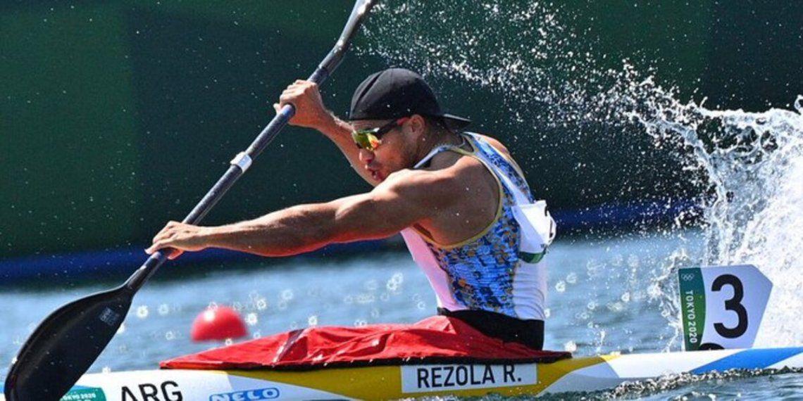 Rubén Rézola avanzó a las semifinales en K1-200 de los Juegos Olímpicos