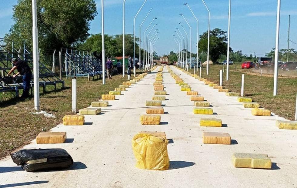 Corrientes: Prefectura Naval secuestró marihuana.