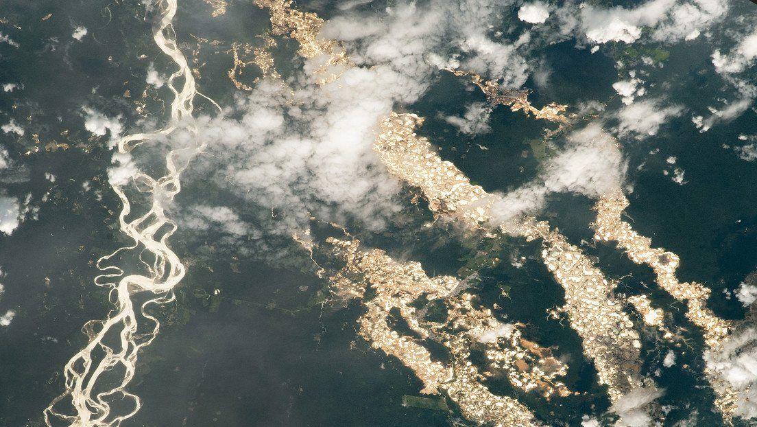 Perú: la NASA capta impresionantes ríos de oro