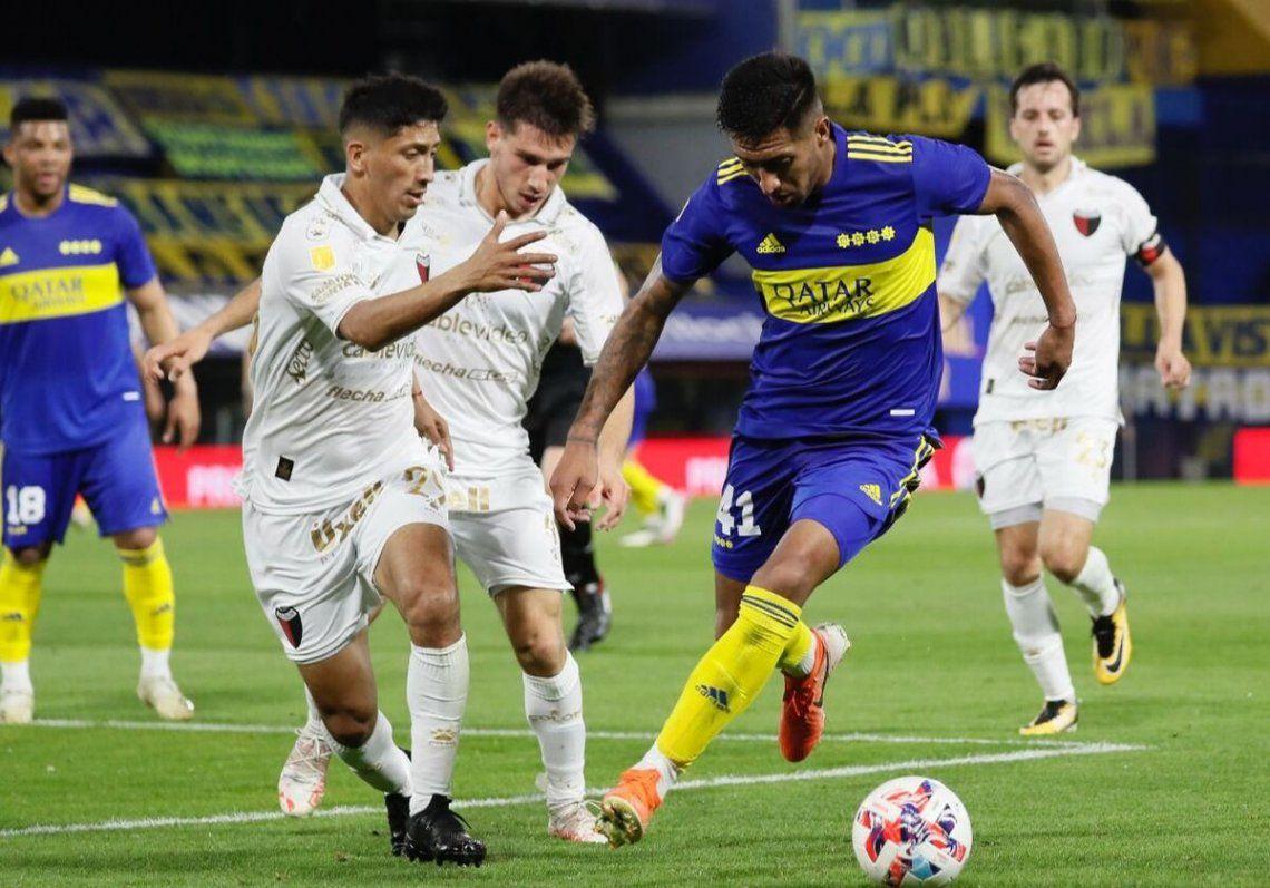 Boca se impuso frente a Colón gracias al gol de Nicolás Orsini.