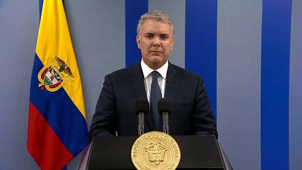 Colombia: el presidente Iván Duque.