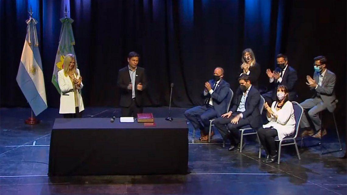 Axel Kicillof tomó juramento a los nuevos ministros.