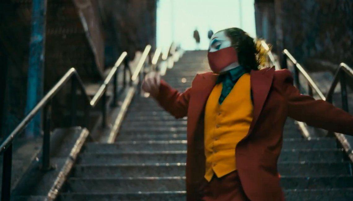 Campaña viral: los principales personajes del cine usan tapaboca