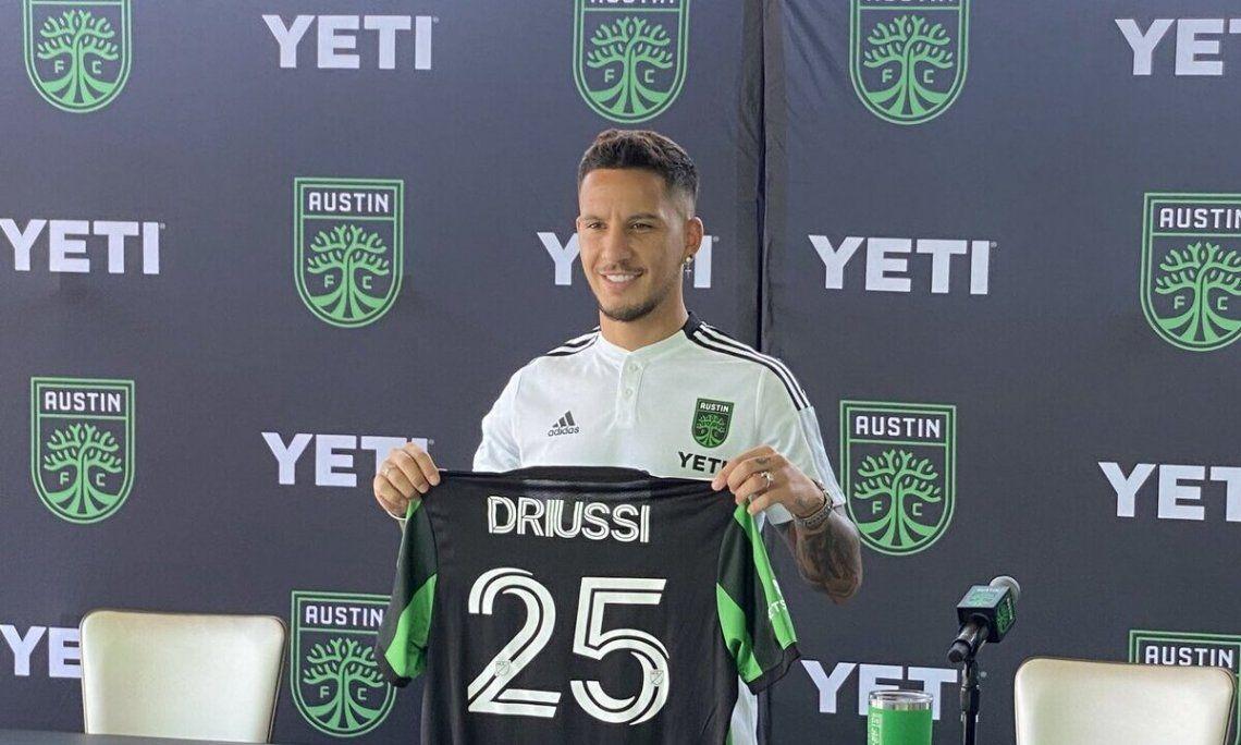 Sebastián Driussi continuará su carrera en la Major League Soccer.