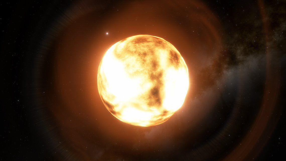Predicen la aparición de una segunda luna en el cielo tras la explosión de una famosa estrella