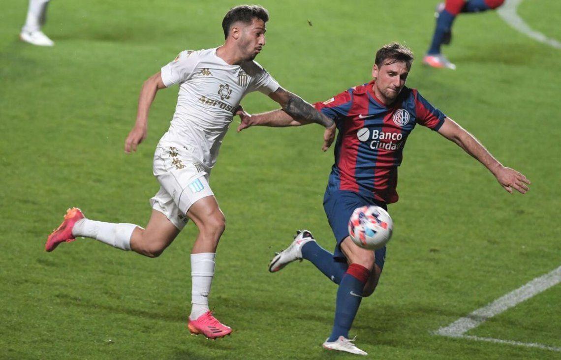 San Lorenzo y Racing igualaron 1-1.