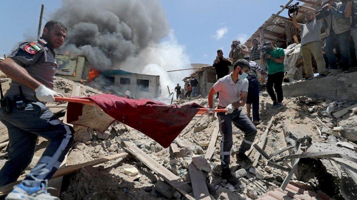 Centenares de ciudadanos palestinos murieron en los últimos días tras los ataques del gobierno de Israel.