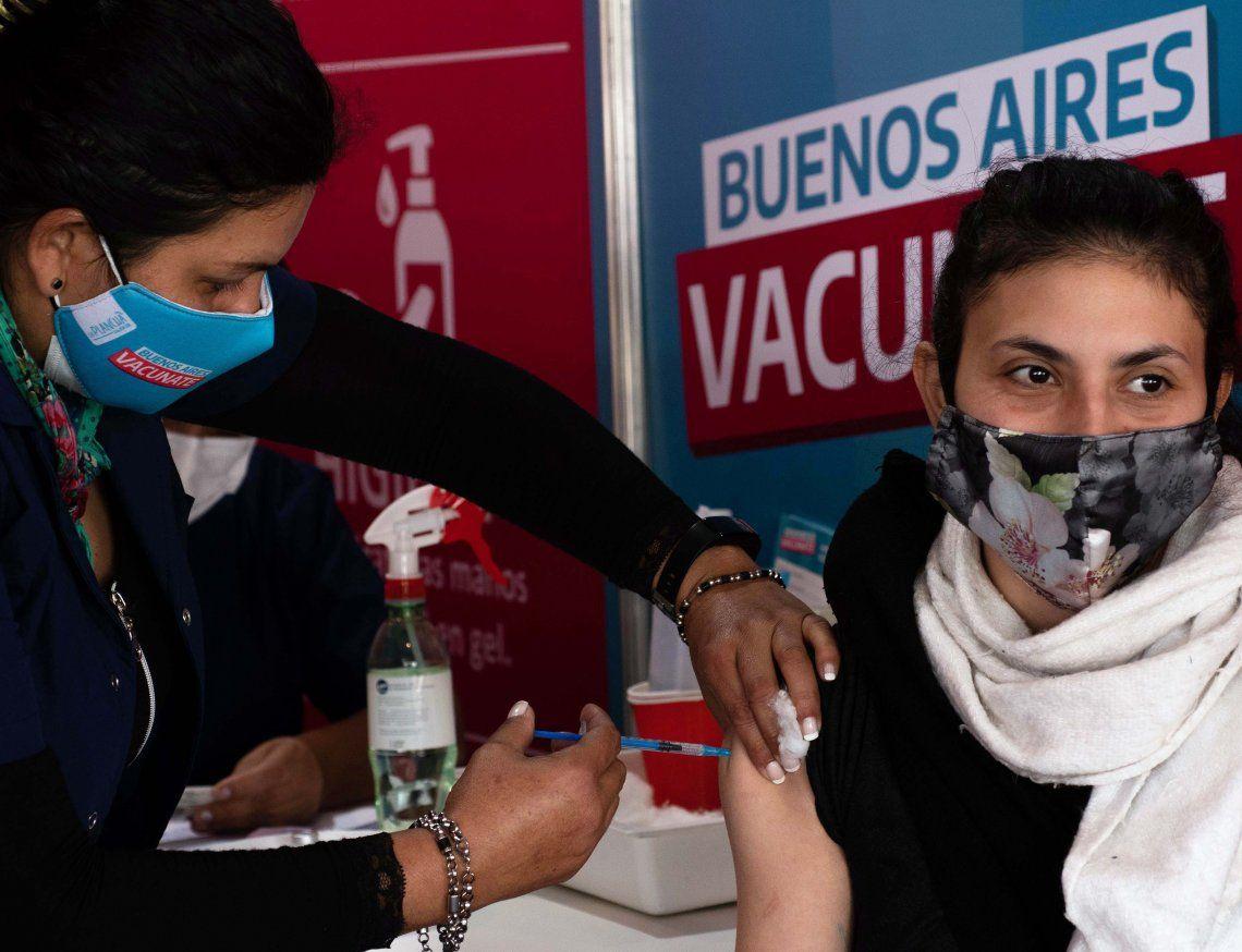 Coronavirus: la vacunación avanza en Argentina.
