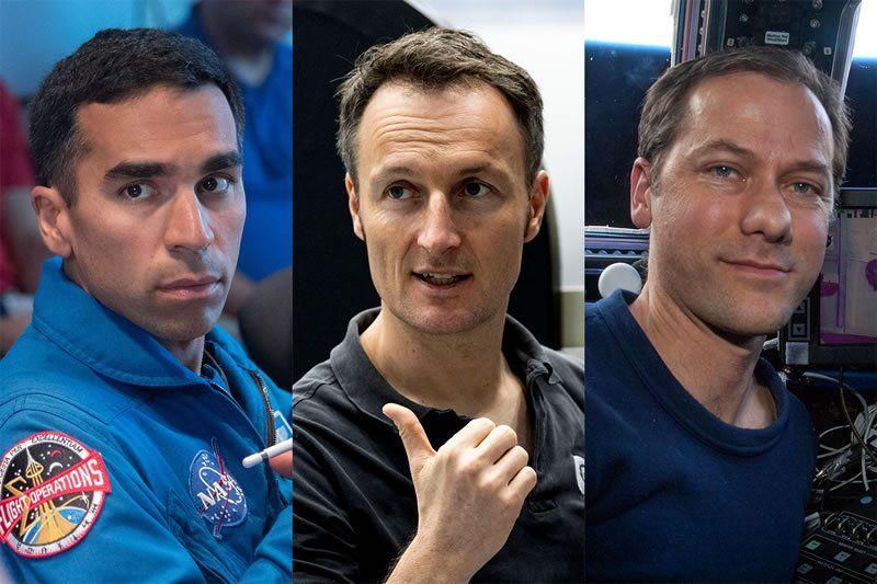 Los astronautas que formarán parte de la misión Crew-3 a la Estación Espacial Internacional