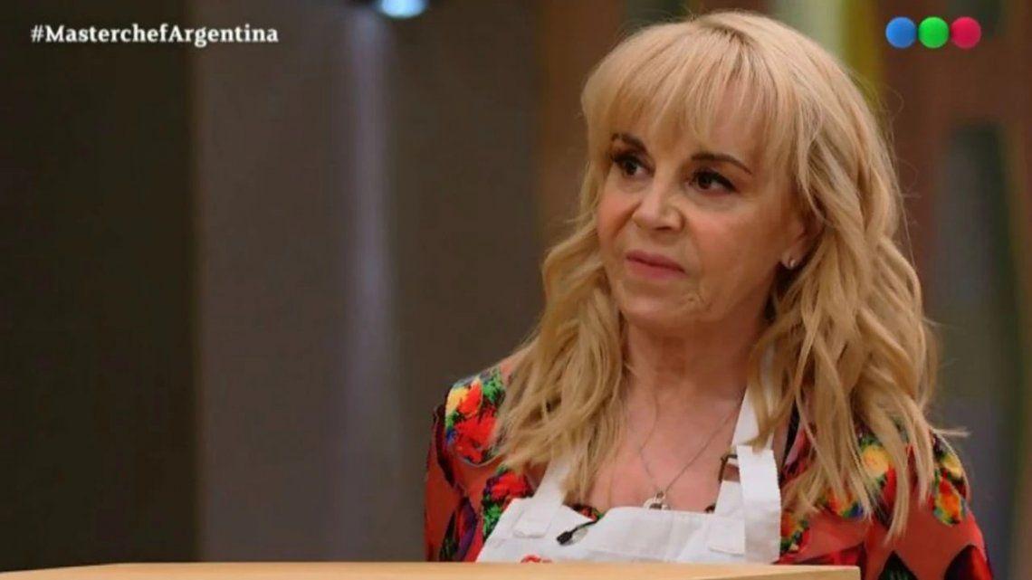 Así fue el regreso de Claudia Villafañe a MarterChef Celebrity tras la muerte de Diego Maradona