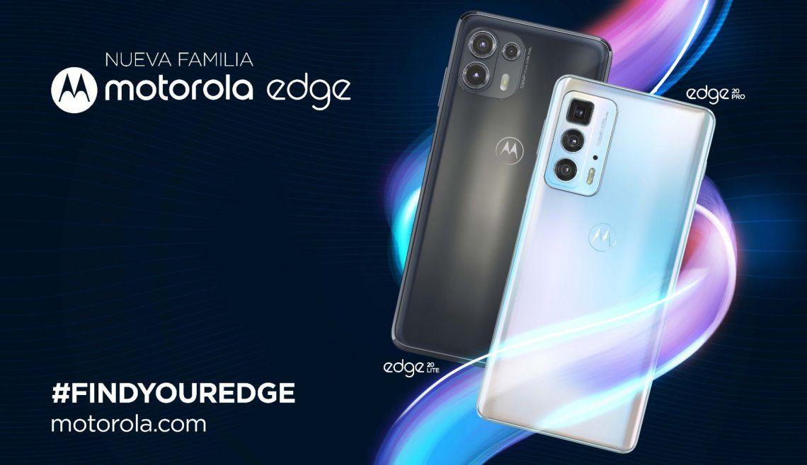 Ya están en Argentina los nuevos Motorola edge 20 pro y motorola edge 20 lite