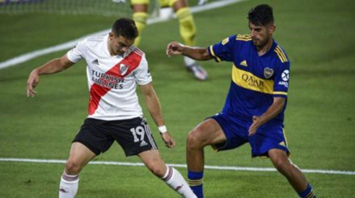 El último enfrentamiento fue empate en dos goles en La Bombonera