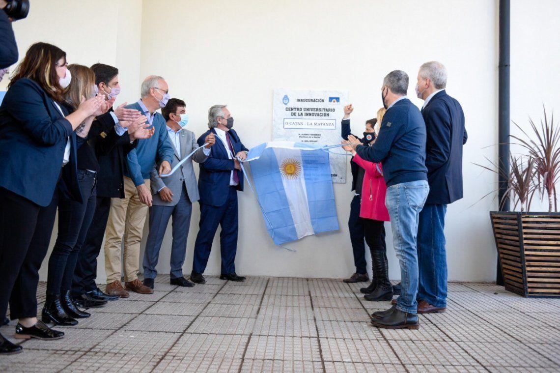 Presentaron el Centro Universitario de la Innovación en Catán