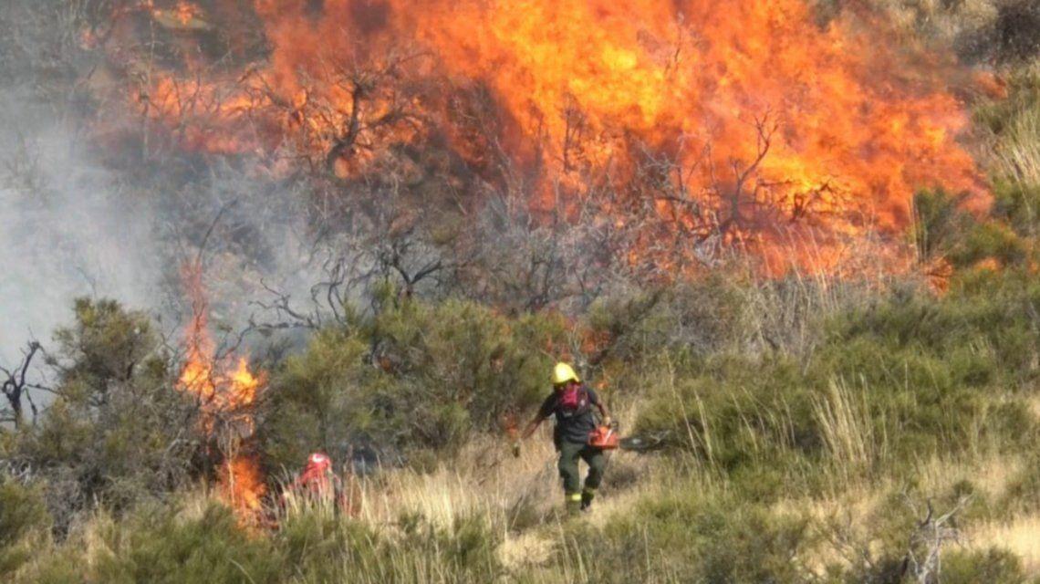 Los incendios dejaron otro poblador muerto del sur.