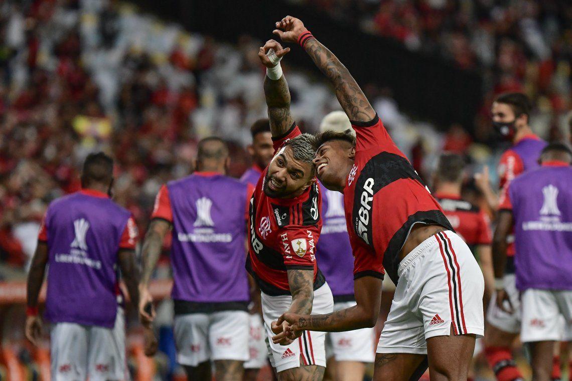 Flamengo celebró en la ida
