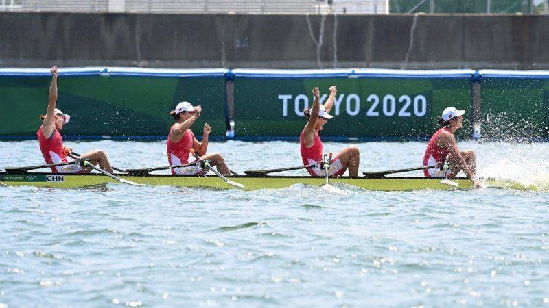 China ganó en remo con récords del mundo en los Juegos Olímpicos de Tokio 2020