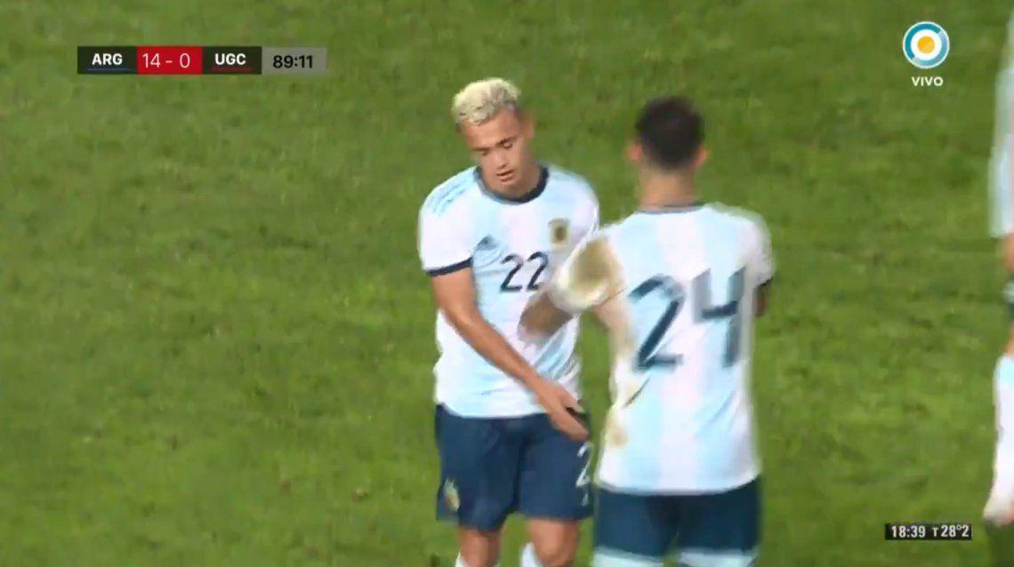 Islas Canarias se comió una goleada histórica: la Selección Argentina Sub-23 le ganó 14 a 0