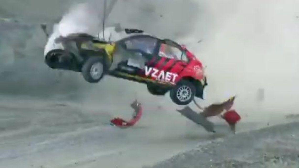 Terrible accidente.