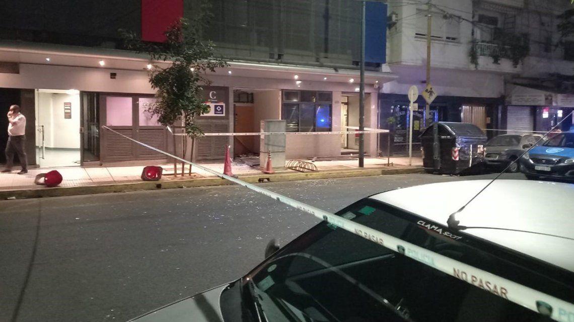 La escena final tras la explosión en Villa Crespo.