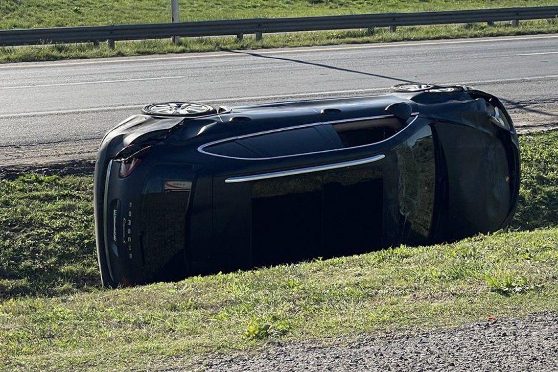 Ramiro Agulla sufrió un accidente.