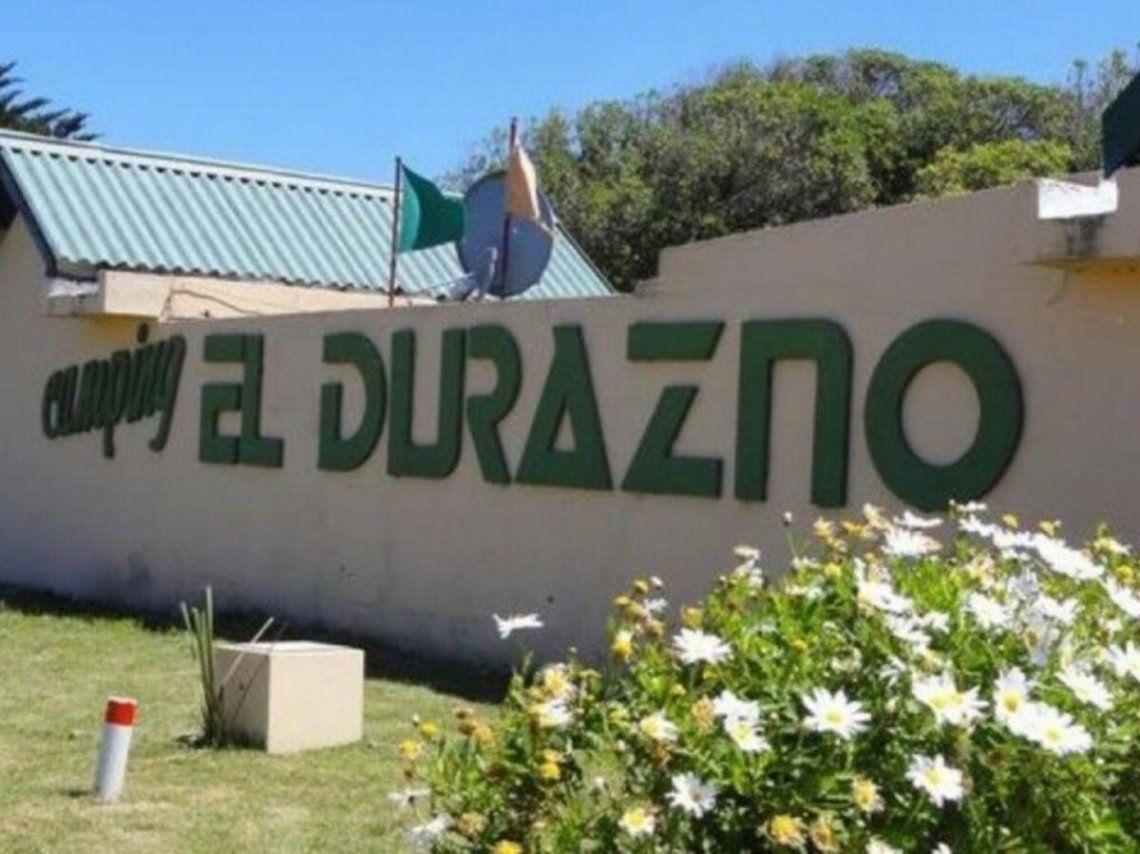 Ocurrió en el camping El Durazno en Miramar