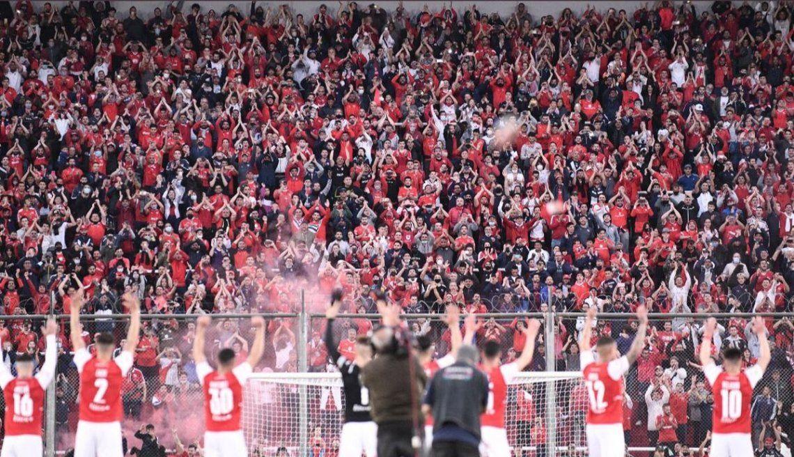 El reencuentro de Independiente con su público.