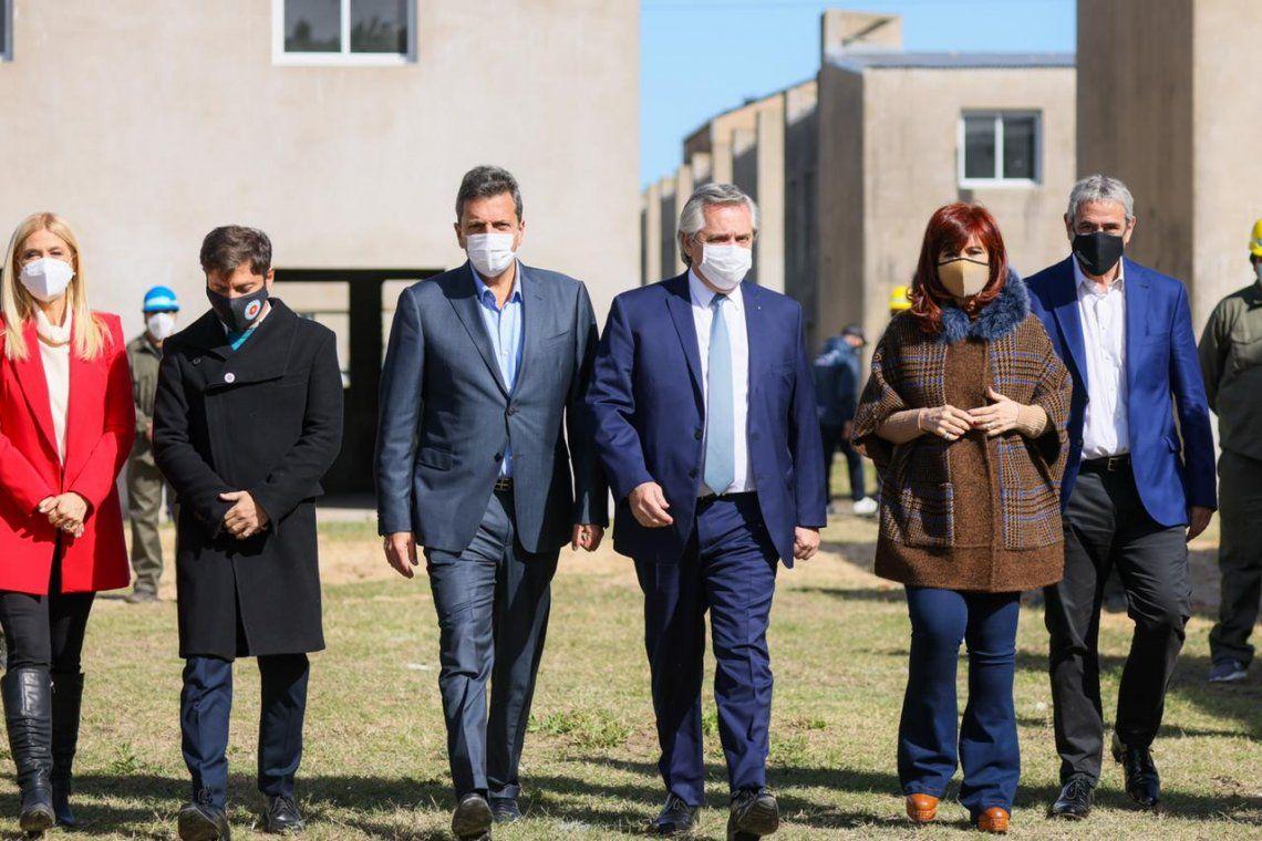 El presidente Alberto Fernández se mostró junto a Cristina Kirchner