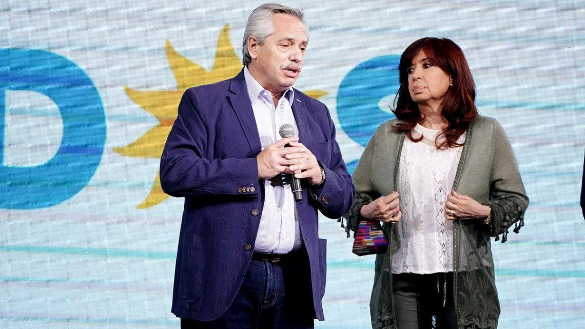 Alberto Fernández y Crstina Kirchner