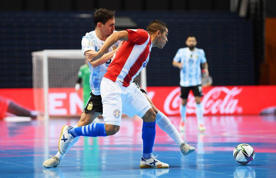 Argentina goleó a paraguay y enfrentará a Rusia en los cuartos de final del Mundial de Rumania