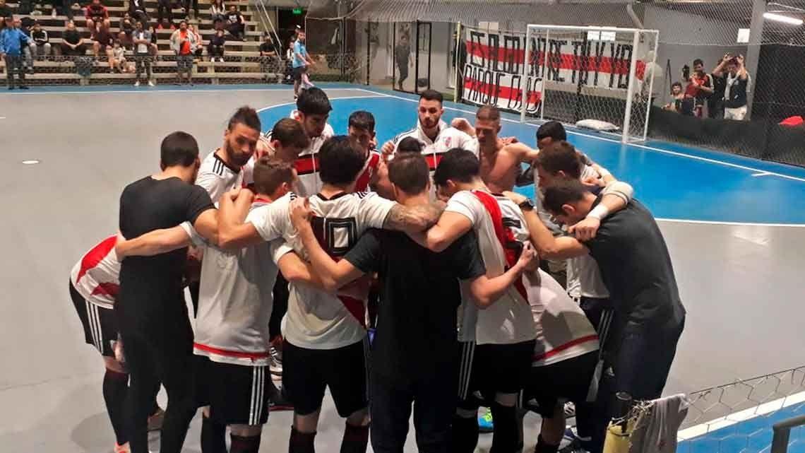 River descendió a la B en Futsal