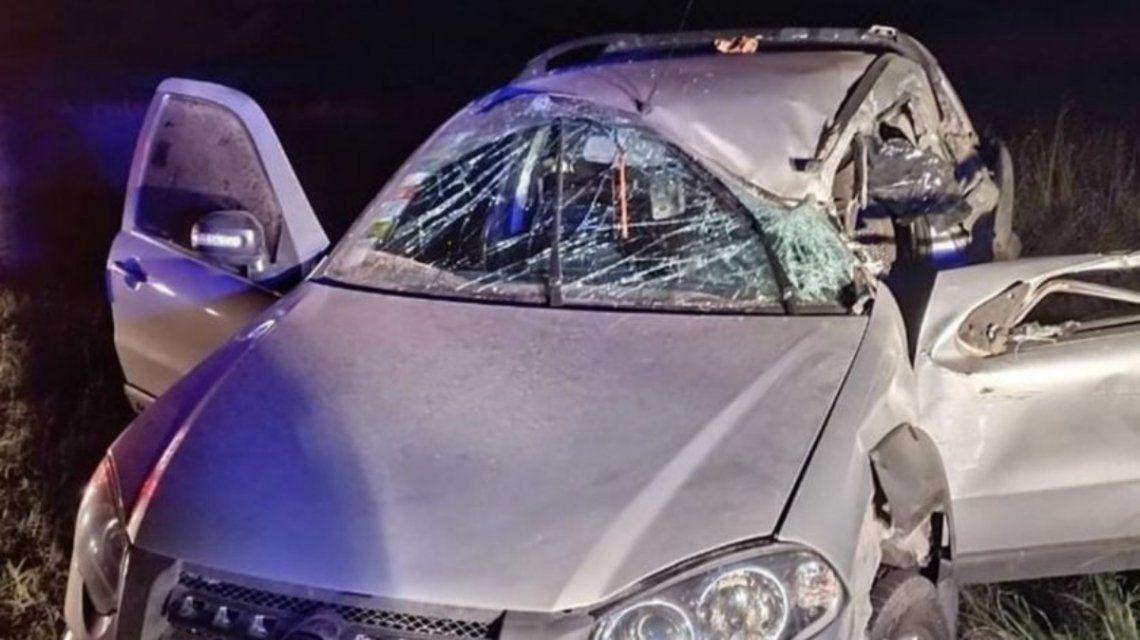 La conductora de la camioneta que impactó con el camión falleció en el acto