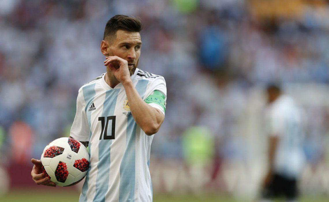 Opinión   La vulnerabilidad inocultable de Messi