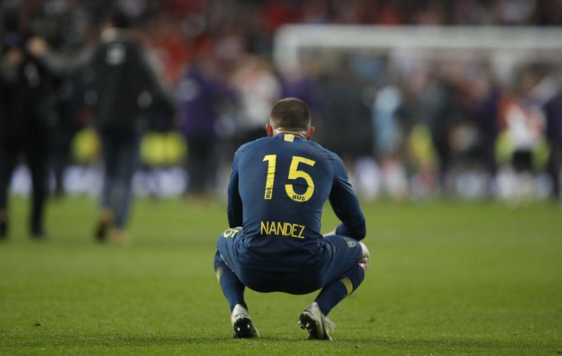 Nahitan Nández tiene conflictos en Cagliari con su contrato y podría volver a Boca