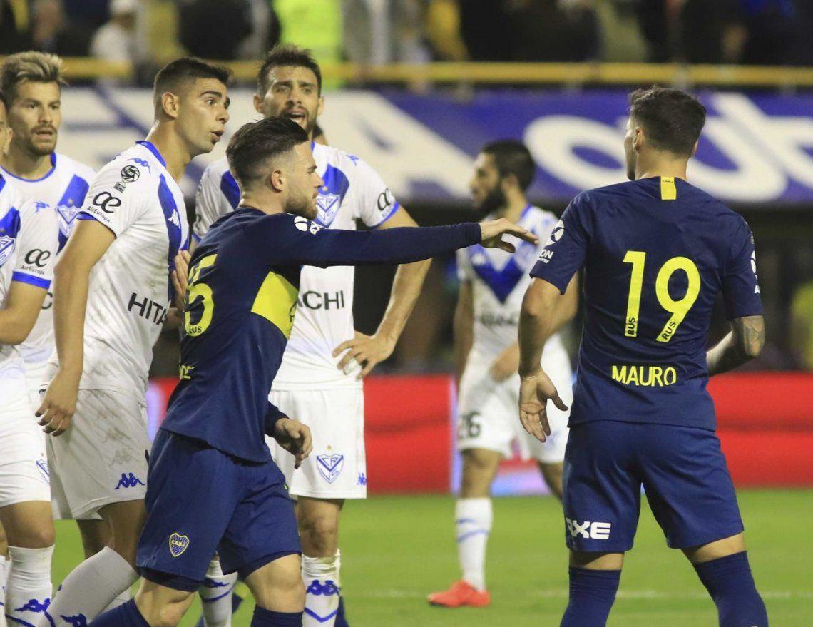 Todo Vélez contra Mauro Zárate después del pasó el grande