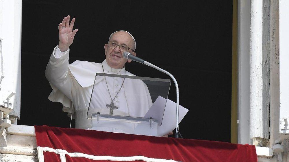 El Papa Francisco bendijo a los peruanos