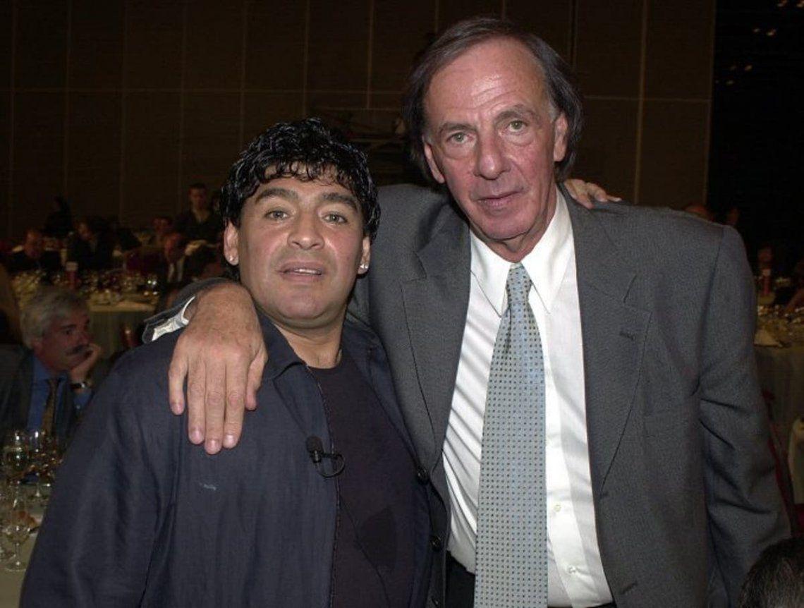 Diego Maradona: Feliz Cumpleaños Menotti, felicidades Maestro