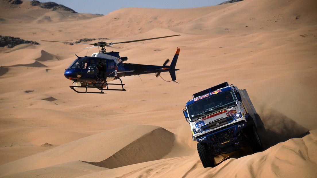 Dakar: particular choque.