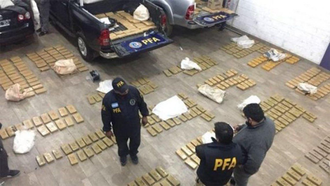 Cayó una banda narco que operaba en el conurbano bonaerense y en la Patagonia.
