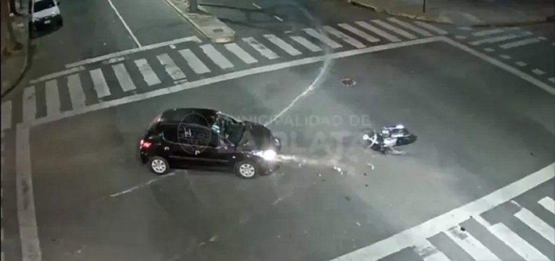 Terrible accidente en La Plata.