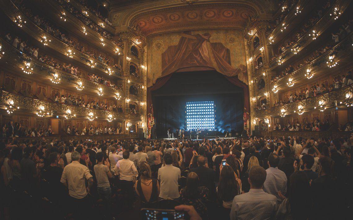 Show de Hernán Cattaneo en el Teatro Colón