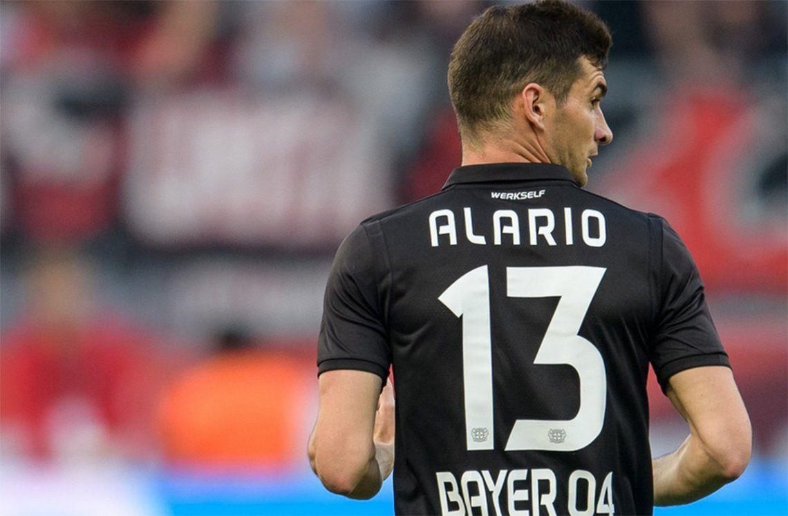 Lucas Alario fue convocado por Scaloni para los próximos amistosos de la Selección Argentina