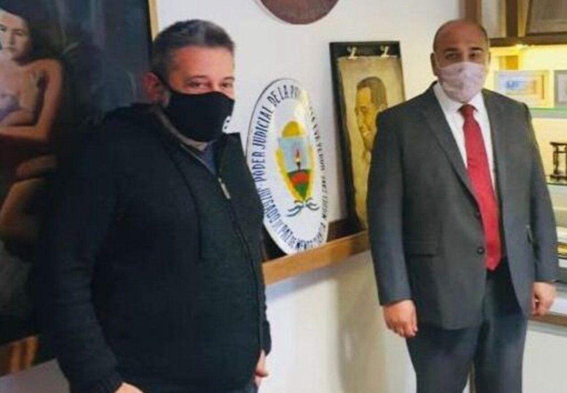 Juan Manzur visitó el SUTERH